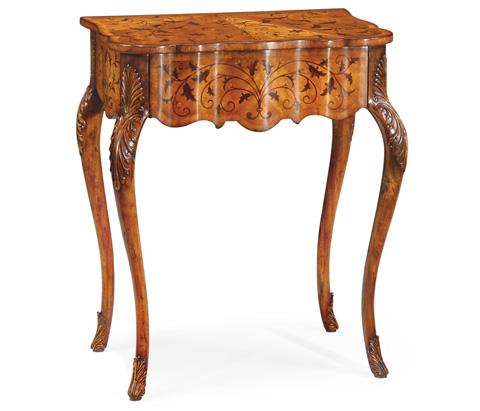 Image of Small Marquetry Side Table