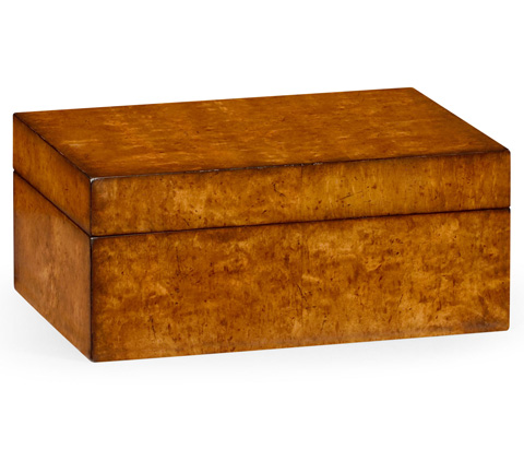 Image of Masur Birch Rectangular Box