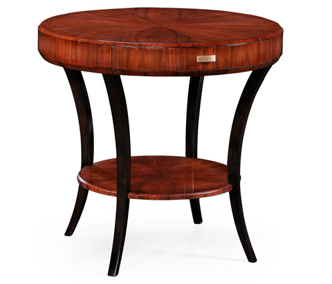 Image of Art Deco Round Side Table