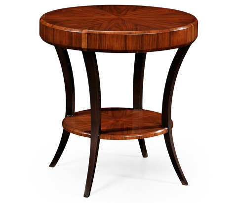 Jonathan Charles - Art Deco Round Side Table - 494083-SAH
