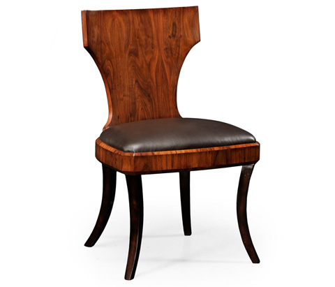 Image of Art Deco Klismos Side Chair