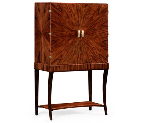 Jonathan Charles - Art Deco Bar Cabinet - 494161-SAH-BRS