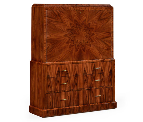 Image of Art Deco Style Accent Cabinet