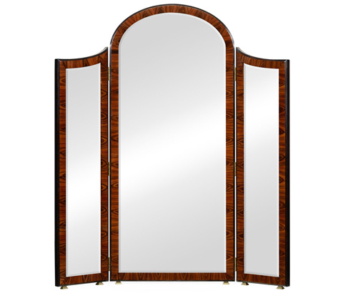 image of art deco style full length triple dressing mirror art deco style rosewood secretaire 494335