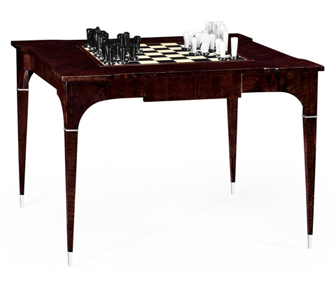 Jonathan Charles - Backgammon and Chess Game Table - 495400-BEC
