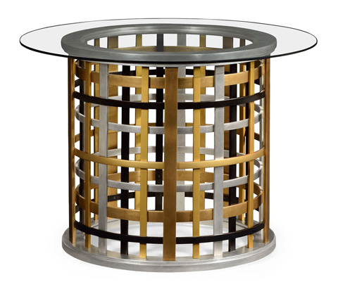 Image of Around Plaid Accent Table