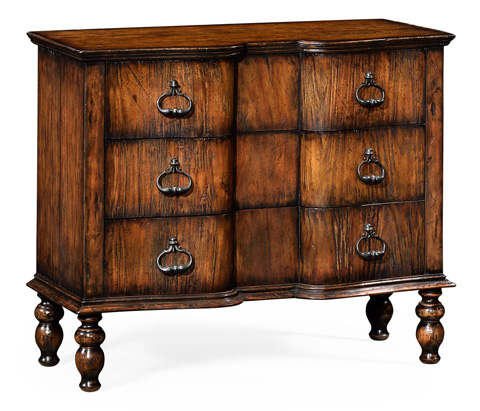 Image of Chest Of Drawers in Rustic Walnut