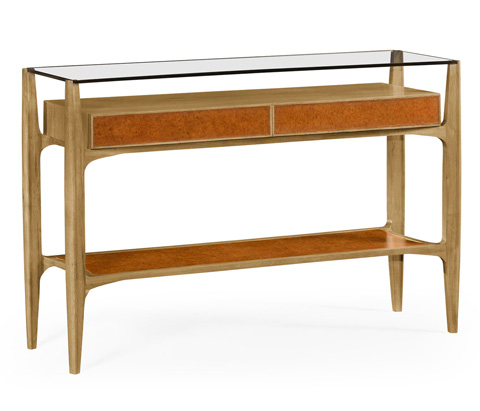 Image of Architects Console Table with Drawers