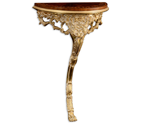 Jonathan Charles - Carved and Gilded Bracket Console Table - 499227