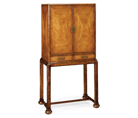 Image of Satinwood Bar Cabinet