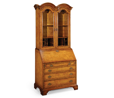 Image of Queen Anne Bureau Cabinet