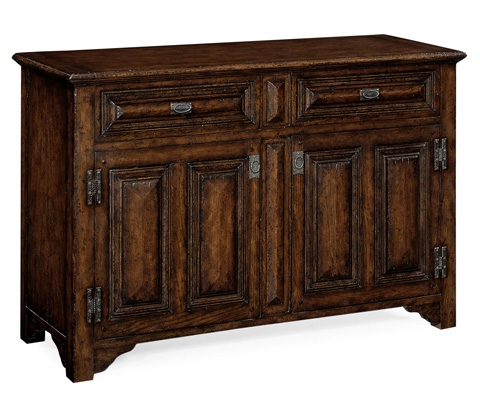 Image of Tudorbethan Dark Oak Sideboard