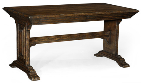 Image of Elizabethan Dark Oak Desk