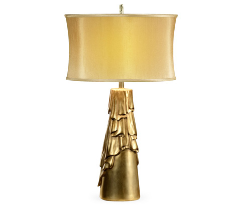 Image of Antique Gilded Table Lamp