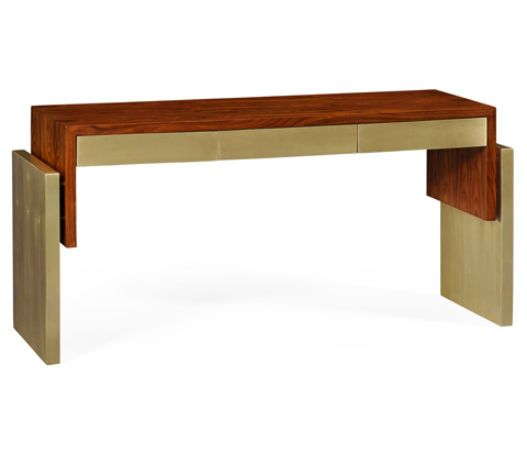 Image of Contemporary Console Table with Drawers