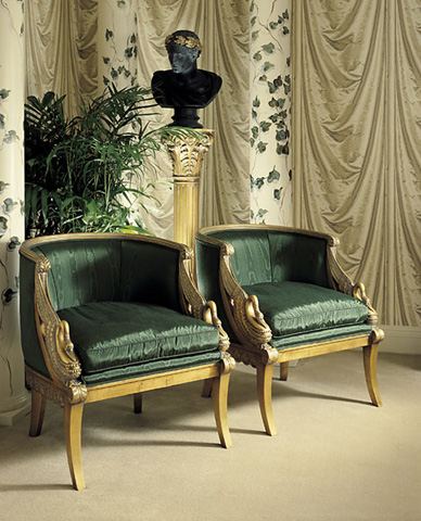 Image of Empire Swan Chair