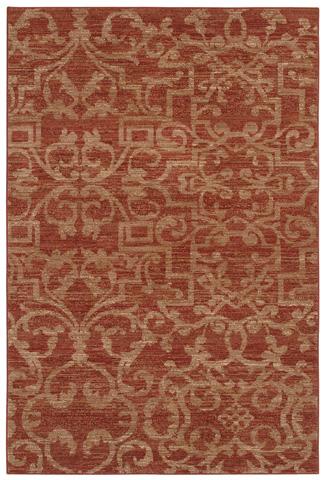 Karastan - French Quarter Henna Rug- 8ft 6in x 11ft 6in - 35505-33017-8'6X11'6