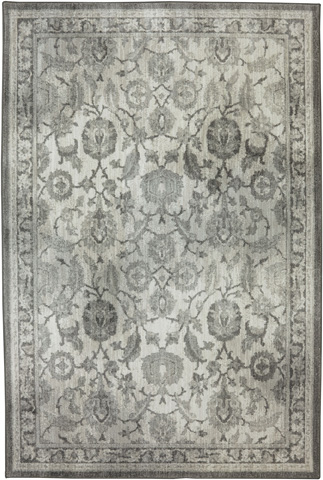 Image of New Ross Ash Grey Rug- 9ft 6in x 12ft 11in