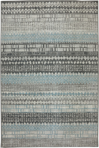 Image of Eddleston Ash Grey Rug- 9ft 6in x 12ft 11in