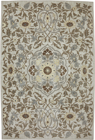 Image of Edenderry Sand Stone Rug- 9ft 6in x 12ft 11in