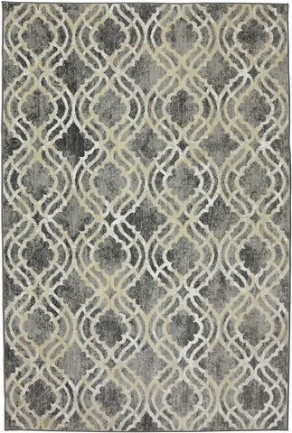 Image of Potterton Ash Grey Rug- 9ft 6in x 12ft 11in