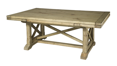 Kincaid Furniture - Refractory Trestle Table - 33-054T