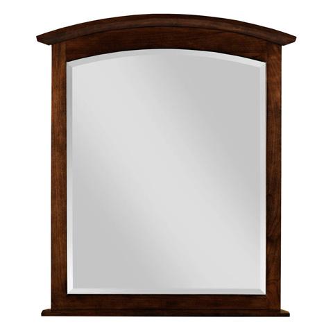 Kincaid Furniture - Arch Mirror in Molasses - 44-1830