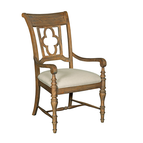 Kincaid Furniture - Weatherford Arm Chair in Heather - 76-062