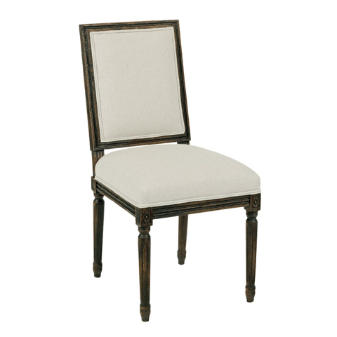 Kincaid Furniture - French Side Chair in Tobacco - 90-2419R