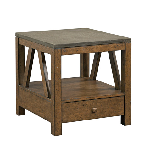 Kincaid Furniture - Mason End Table with Drawer - 69-1132