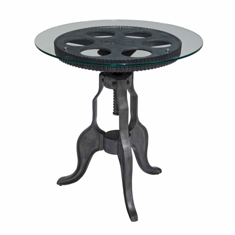 Kincaid Furniture - Gear End Table - 37-021B/37-021T