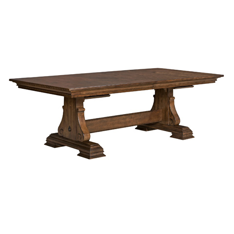 Kincaid Furniture - Carusso Trestle Dining Table - 95-054B/95-054T