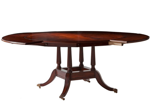 Georgian Round Dining Table 38 014 Kindel Furniture