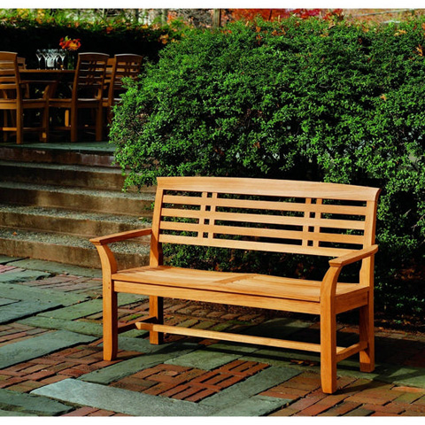 Kingsley-Bate - Mandalay Wooden Outdoor Bench - MD45
