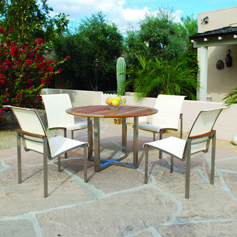 Kingsley-Bate - Tiburon Round Dining Table - TB48