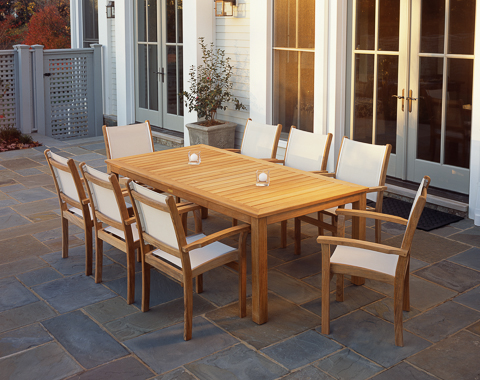 Image of Wainscott Rectangular Dining Table