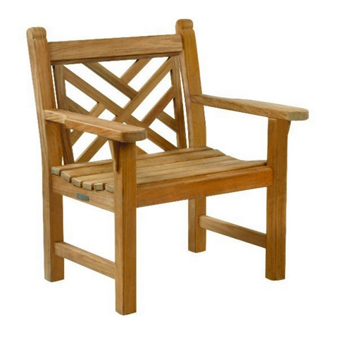 Kingsley-Bate - Chippendale Garden Arm Chair - CH25