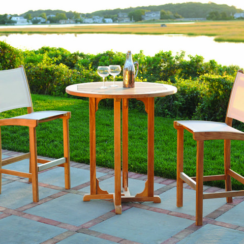 Kingsley-Bate - Essex Bar Table - TR37