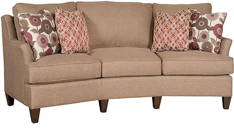 Image of Melrose Fabric Conversation Sofa