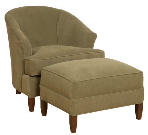 King Hickory - Cassandra Upholstered Chair - 0481