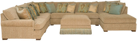 King Hickory - Casbah Sectional Sofa - 1100SECT