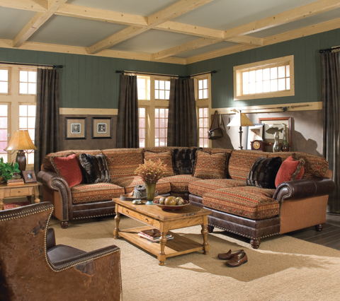 King Hickory - Katherine 4 Piece Sectional Sofa - 9700SECT
