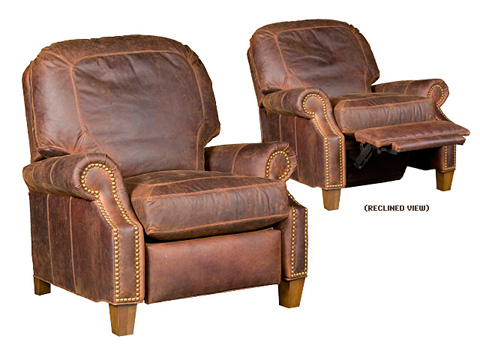 King Hickory - Jefferson Leather Recliner - 0137-LR
