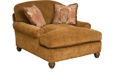 King Hickory - Charlotte Chaise & a Half - 0260