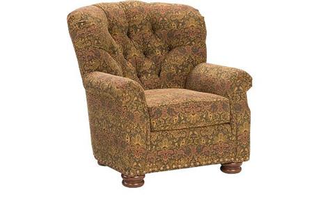 King Hickory - Oscar Tufted Back Chair - 0271