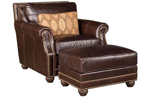 King Hickory - Julianna Leather Ottoman - 3008-L