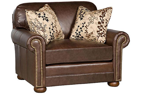 King Hickory - Bentley Fabric Chair & 1/2 - 4455