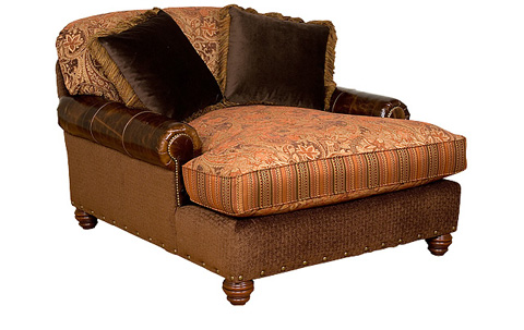 King Hickory - Charlotte Chaise & a Half - 50260-LF