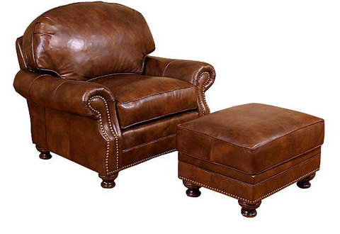 King Hickory - Boston Leather Chair - 58401-L