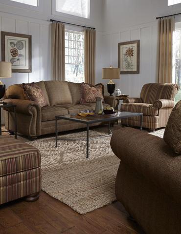 King Hickory - Helen Fabric Sofa - 6100